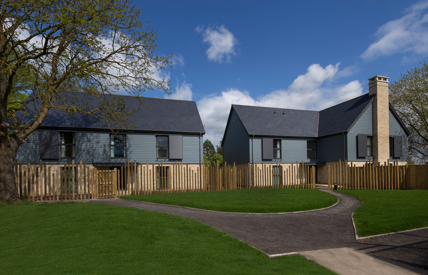 ACCOMMODATION BLOCKS FOR A SPECIAL NEEDS SCHOOL